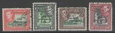Used George VI (1936-1952) British St Vincentian Stamps