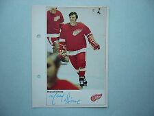 1971/72 TORONTO SUN NHL ACTION HOCKEY PHOTO MARCEL DIONNE ROOKIE SHARP!! 71/72