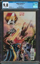 Mighty Avengers #1 Bryan Hitch 1:50 Variant CGC 9.8 NM+/MT 1st App Spectrum 2013