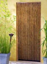 Bambusvorhang Türvorhang Dekovorhang Vorhang Natur 90x200