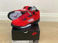 "Nike Air Jordan 5 Raging Bull GS ""Toro Bravo"" 2021 440888-600 Size 3.5Y - 7Y"