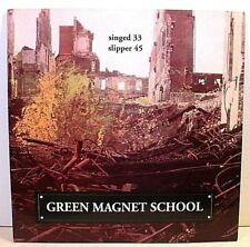 """Sub Pop SP136, Club #38 - GREEN MAGNET SCHOOL - Singed - '91 NM 7"""" - YELLOW wax"""