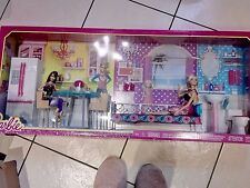 barbie doll and house furniture brand new and sealed