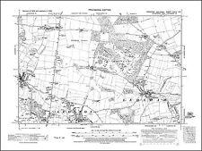 Ponterfract Featherstone Carleton map Yorkshire 1938: 249NE Purston Jaglin