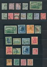 Jamaica **(28) ISSUES OF (1885-1938)**; MOSTLY USED; AS SHOWN; CV $36