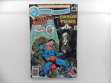 DC Comics Presents #8  Superman Swamp Thing DC Comics 1979