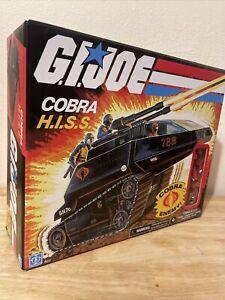 *MINT* GI Joe Retro Cobra H.I.S.S Walmart Exclusive HISS Vehicle Tank W/ Driver