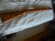 WW2 german K98 mauser rifle nice color wood stock w matching handguard flat type