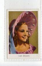 (Jd3645) SALEM,FILM STARS,LIEN DEYERS,1930,#107