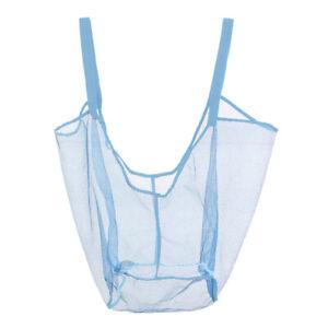 Large Capacity Sand Free Mesh Bag Beach Toy Storage Bag Clothes Towel Beach^
