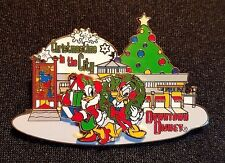RARE 2001 DISNEY WDW CHRISTMASTIME IN THE CITY EVENT DONALD & DAISY PIN LE 1500