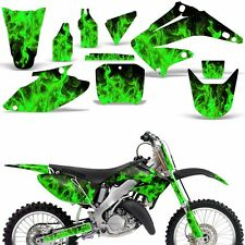 Graphic Kit Honda CR125 CR250 Dirt Bike Decal Backgrounds Sticker 02-03 ICE GREN