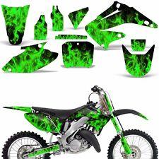 Graphic Kit Honda CR125 CR250 Dirt Bike Decal Backgrounds Sticker 02-03 ICE GREN