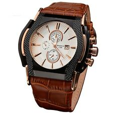 BADACE Luxury Top Brand Quartz Watches Men Date Display Watch