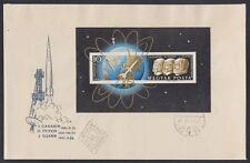 Ungarn Hungary 1962 FDC Bl.33 B Weltraum Space Gagarin Titov Glenn [sr2811]