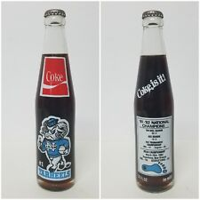 UNC Tar Heels Basketball - 1982 NCAA Champions Coke Bottle