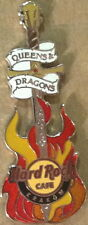 Hard Rock Cafe KRAKOW 2014 Queens & Dragons GUITAR PIN Event HRC Catalog #80818