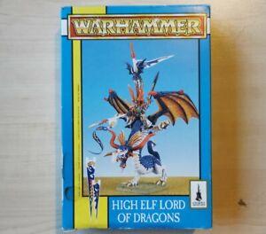 Prince Imrik Lord Of Dragons High Elves New Boxed Warhammer Fantasy Metal OOP 94