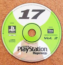 Vintage PlayStation SCED-01144 Official UK PlayStation Magazine CD 17 Vol.2