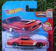 ORANGE '68 Shelby GT500. HW 2016 SHORT CARD. 105/250. DHX75. New in Package!