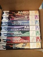 Lot Of 7 Winsor Pilates VHS Total Body Sculpting Workout Videos