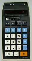 Texas Instruments TI-2550 Electronic Calculator Tested Works