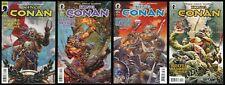 King Conan Wolves Beyond the Border Full Comic Set 1-2-3-4 Lot Robert Howard REH