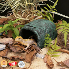 Reptile Cage Decorations Rock House Cave Hideout for Lizard Iguana Snake Turtle