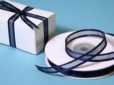 Nœuds, rubans et ficelles bleus pour emballage et paquet cadeau