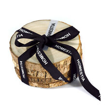 4 pcs Camphor Wood Coasters Wood Tea Cup Mat Pad Holder Tree Bark Slice Placemat