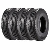 Set of 2 Radial DOT Trailer Tires 205//75R14 ST20575R14 8PR//Load Range D