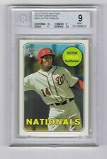 2018 Topps Heritage Action Variations #284 Victor Robles RC  BGS Graded 9 Mint