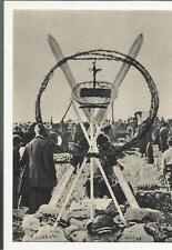 colle di sant elia cartolina  epoca sacrario prima guerra mondiale 71034 ALPINI