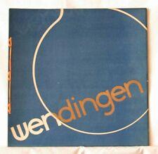 Wendingen art deco magazine 1930 no.10, Glass Leerdam, Copier, Bloch, Berlage