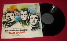 "SINATRA, CURTIS, WOOD ""KINGS GO FORTH"" MEGA RARE OST 1958 CAPITOL W 1063 LP"