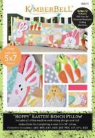 KimberBell Machine Embroidery CD ~ Hoppy Easter Bench Pillow ~ KD571