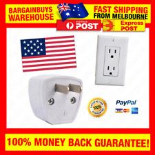USA Power Plug Travel Adapter Convert Power Plug to North American Wall Socket