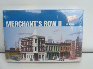 Walthers Cornerstore Merchant's Row II Häuser Bausatz Spur H0 933-3029