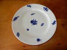 "ANTIQUE ROYAL CROWN DERBY BLUE DINNER PLATE 10 1/4"" - OSMASTON 1877 - 1890"