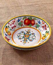 (1) Oversized Pasta / Salad Bowl Italian Design Colorful Serving Kitchen Decor