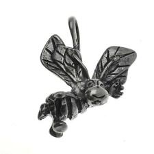 Vintage Sterling Silver Happy Honey Bee Bracelet Charm / Pendant 925 2.6g C233