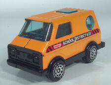 "Vintage Buddy L School Bus Van 5"" Pressed Steel Scale Model Japan"