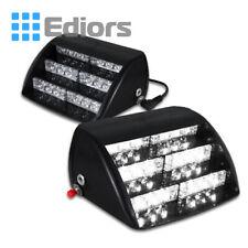 18 LED White Auto Car Dash Windshield Dash Emergency Warning Strobe Flash Light