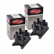Set of 2 Delphi GN10185 Ignition Coils For Ford Ranger Focus Escape B2300 98-12