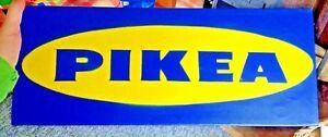 "Chu - ""PIKEA"" - Original Aerosol Painting - RARE - BANKSY EINE STIK"