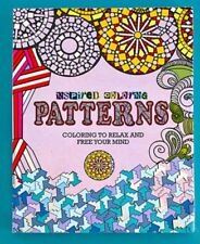 Adult Coloring Book - Patterns (Inspired Coloring)
