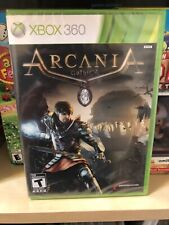 Xbox 360 Arcania Gothic 4 Four Brand New Factory Sealed