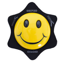 Oxford Smiley Knee Sliders For Motorycle Motorbike Leathers Plain Yellow OX686 T