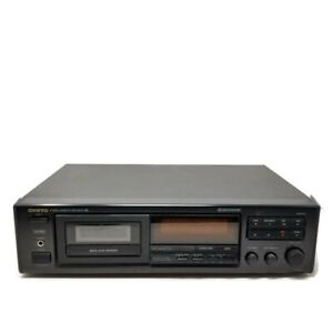 Vintage Onkyo TA-R301 Stereo Cassette Tape Deck Recorder Made in Japan