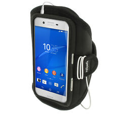 Black Sports Running Armband for Sony Xperia X F5121 (2016) Gym Jogging Cover